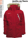 Didriksons Estelle flickparka, r�d