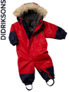 Didriksons Tucky Coverall red/r�d