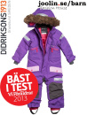 Didriksons Theron deep purple vinteroverall barn