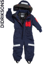 Didriksons Sutton Coverall navy/marin