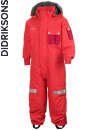 Didriksons Sutton Coverall poppy/r�d