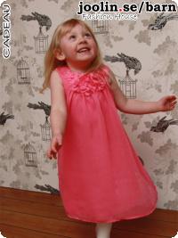 Prinsess-klänning, rosa