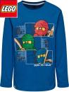 Lego Ninjago blå barntröja, lång ärm