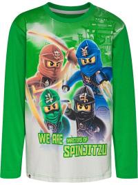 Lego Ninjago print grön, barntröja lång ärm