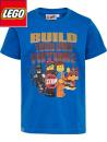 Lego Movie kortärmströja blå