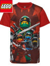 LegoWear Ninjago röd t-shirt