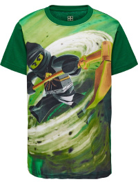 Lego Ninjago grön t-shirt