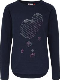 LegoWear marin hjärt tröja