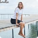 LauRie Savannah/Emma capri/shorts, svart
