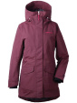 Didriksons Frida, wine red parka