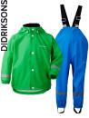 Didriksons Slaskeman island green regnkläder