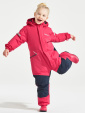 Didriksons Tysse warm cerise kids coveral