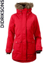 Didriksons Shelter red/röd parkas