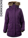 Didriksons Shelter lila/black currant parkas