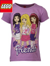 Lego-Friends Top lila