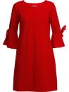 Veckans fynd: Klänning med ärmknyt, röd