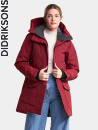 Didriksons Frida, element red, parka
