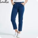 LauRiebyxan jeans, Piper, 7/8-dels längd, mellanblå