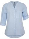 Skjorta, blåvit