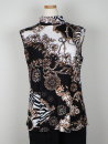 Jersey-top från Cotonel, svarta toner