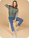 Prisvärd, snygg jeans med superstretch, 7/8