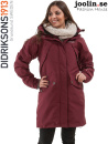 Didriksons Mary red/vinr�d damjacka