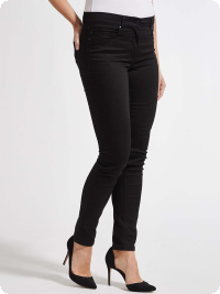 Magic Slim-Jeans Agatha black, slim