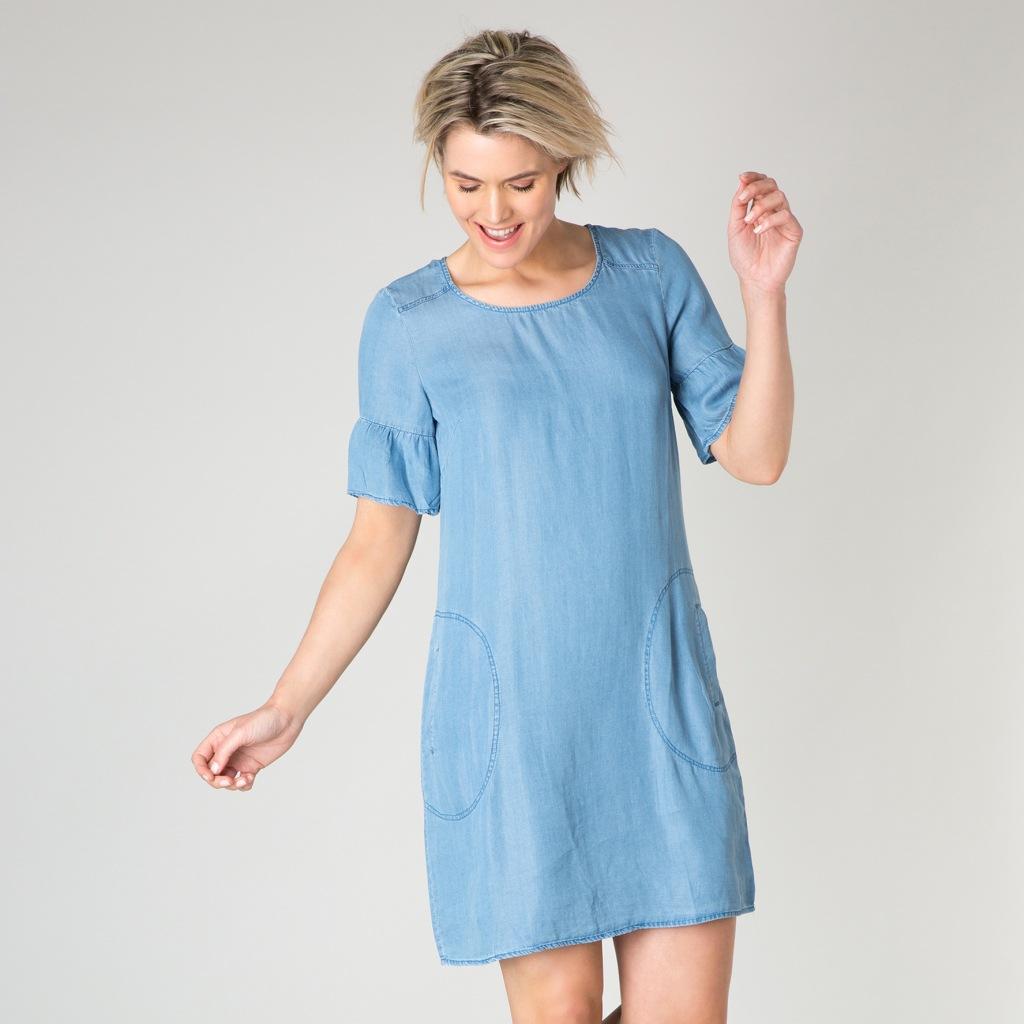 70415af1c00d Härlig klänning i Tencel | 449kr hos Joolin.se